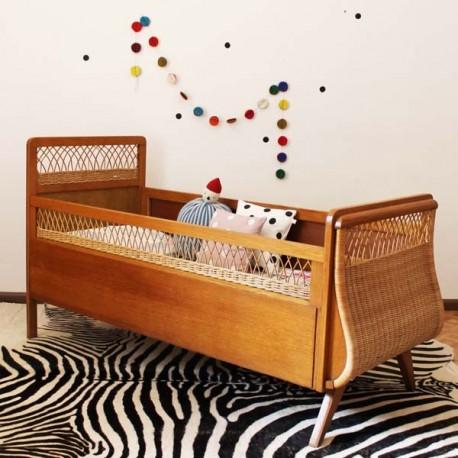 lit rotin enfant. Black Bedroom Furniture Sets. Home Design Ideas
