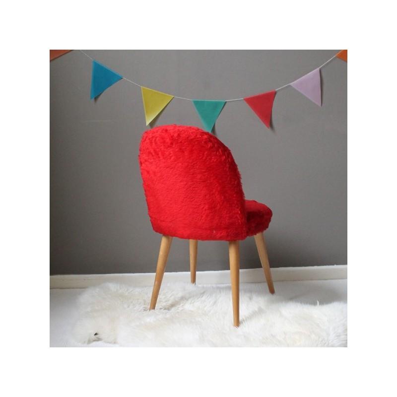 chaise chauffeuse cocktail vintage enfant. Black Bedroom Furniture Sets. Home Design Ideas