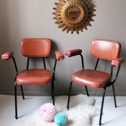 fauteuils skaï